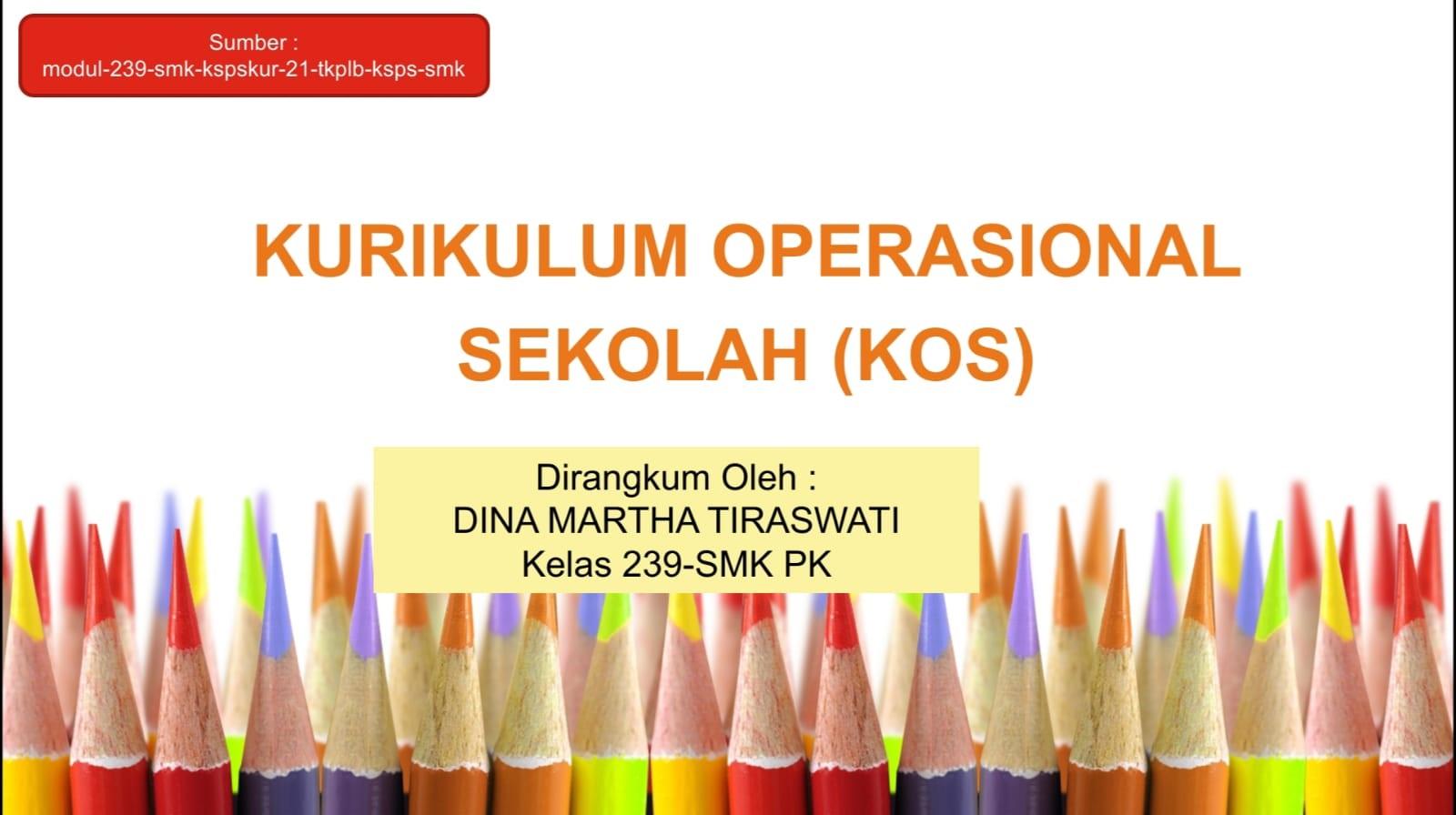 Penyusunan Kurikulum Operasional Sekolah